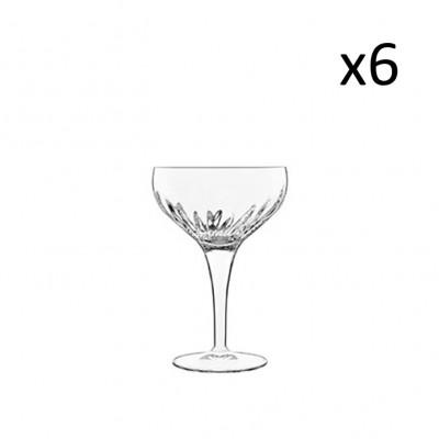 6er-Set Coupes-Cocktail