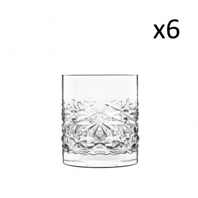 Satz mit 6 Tassen Texturen Niedrig