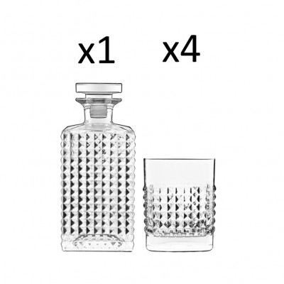 Whisky-Satz mit 5 Stück Elixier
