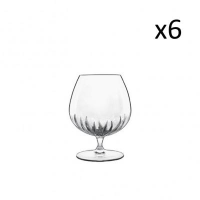 Satz von 6 Cognac-Gläsern