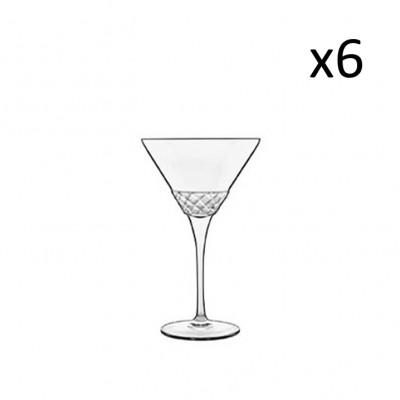 Satz von 6 Martini-Brillen