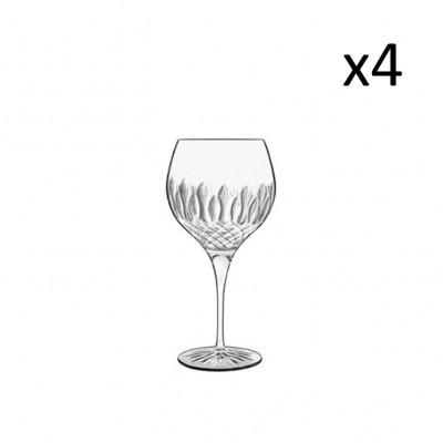 Satz mit 4 Gin-Gläsern