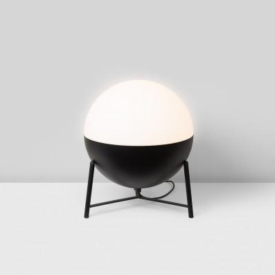 Tischlampe Half P. Stativ | Matt Schwarz