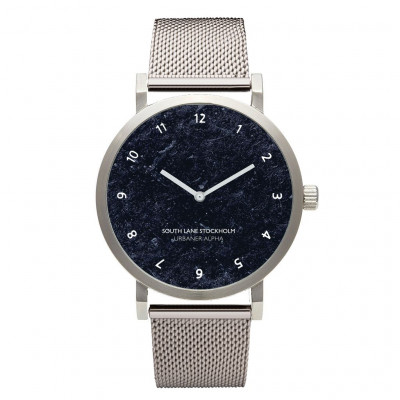 Urbaner Alpha Watch | Silver Steel