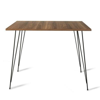 Tisch Sandalf Square   Walnuss