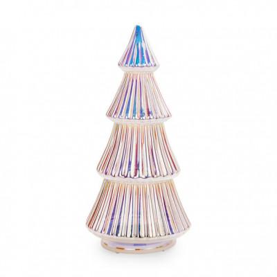 LED-Beleuchteter Weihnachtsbaum | Silber