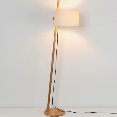 Bodenlampe Linood | Eiche