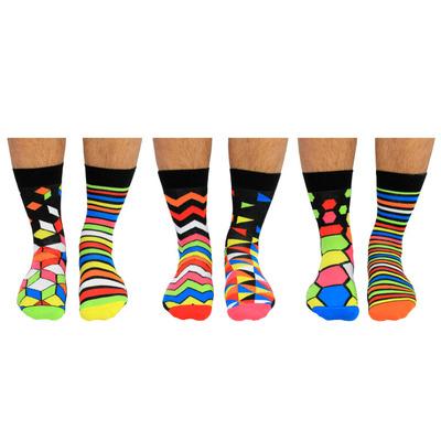 Herren Geschenkbox 6er Pack Socken Addict   39-46