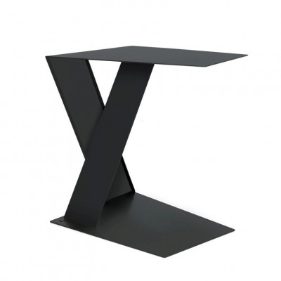 Side Table Siderietto   Charcoal
