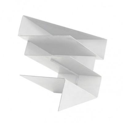 Magazine Holder Origami   White