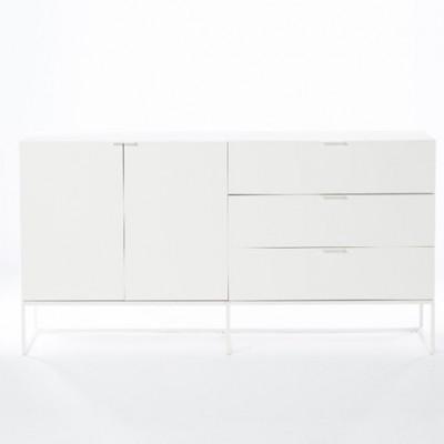 Schrank 2 Türen & 3 Schubladen Bogota | Weiß