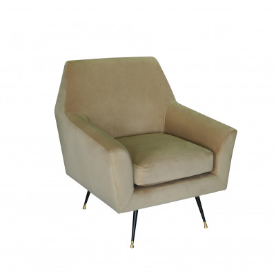 1-Sitzer-Sofa Marsala   Hellbraun