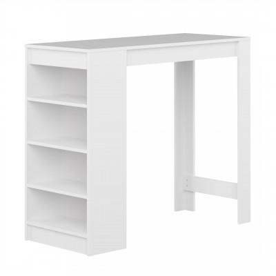 Aravis Bar Esstisch | Weiß