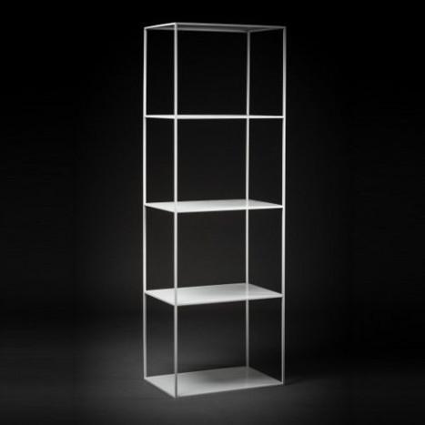 Bookshelf Batavia   White