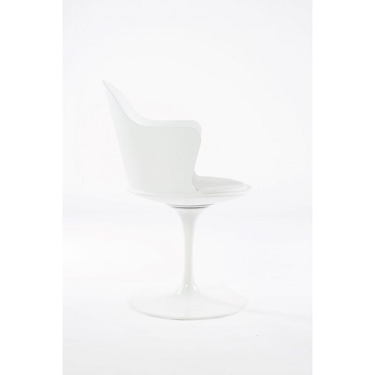 Fauteuil Pivotant Granada | Blanc