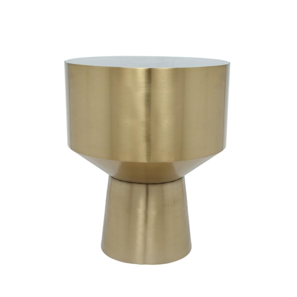 Side Table NAXOS | Gold & Black