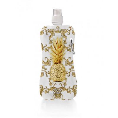 Wasserflasche Gold Ananas
