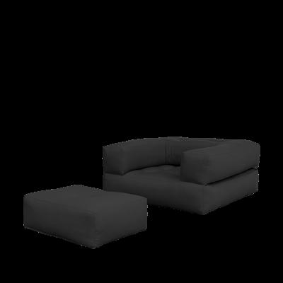 Sofa/Bettwürfel | Dunkelgrau