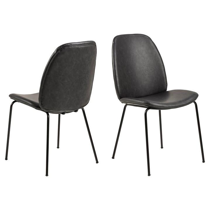 Chair Mita | Set of 2 | Black