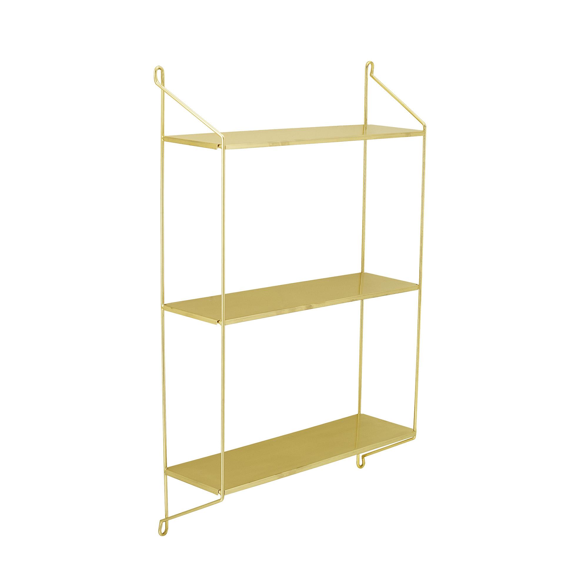 Shelf Layla   Steel   Brass