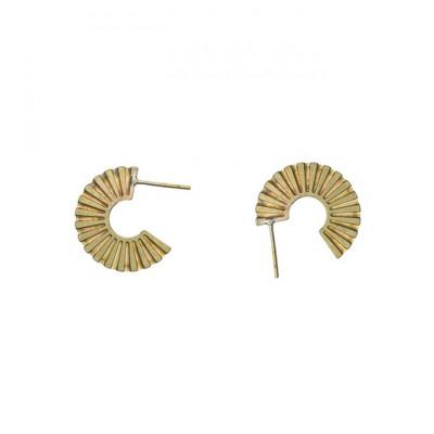 Ohrringe Azteke | Gold