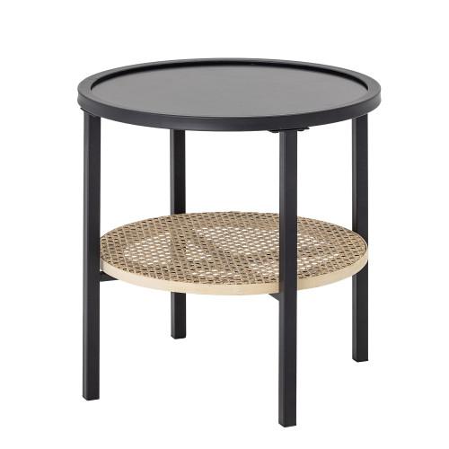 Side Table Renata   Metal   Black