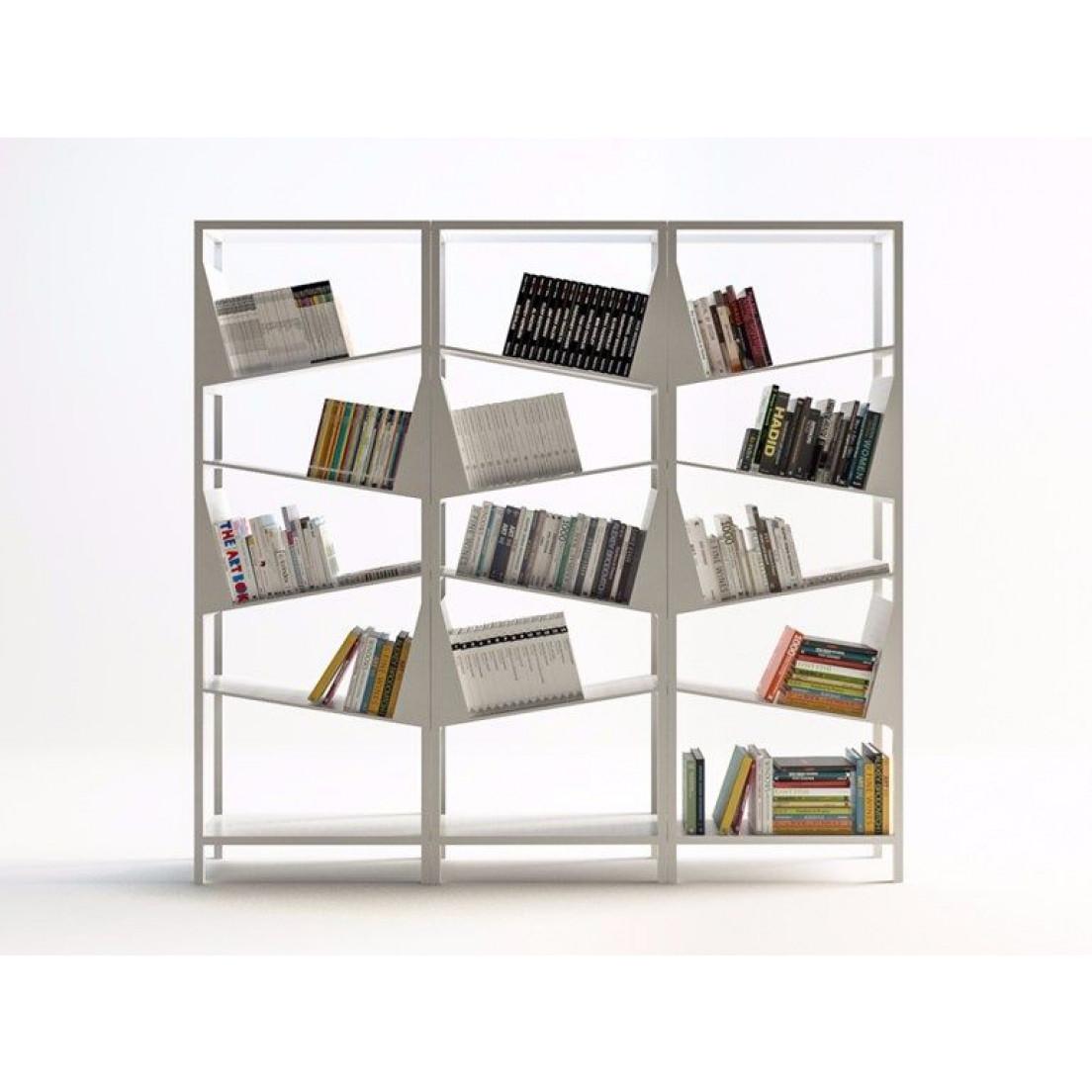 Bücherregal My Library   Weiß