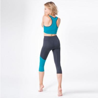 Legging und Sport BH Set 7051 7052 | Grün