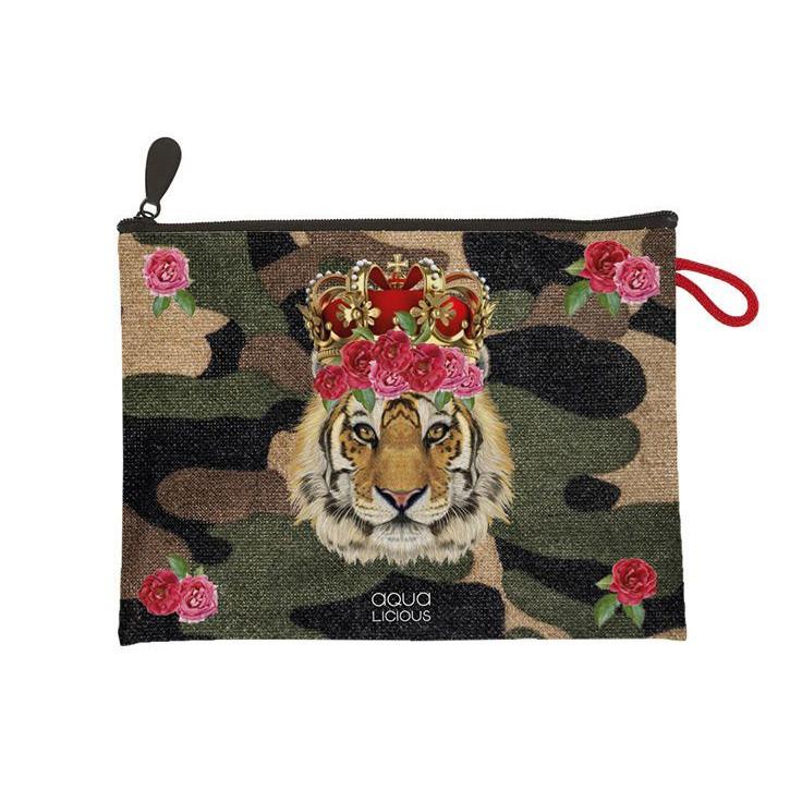 Clutch | Tiger Rose