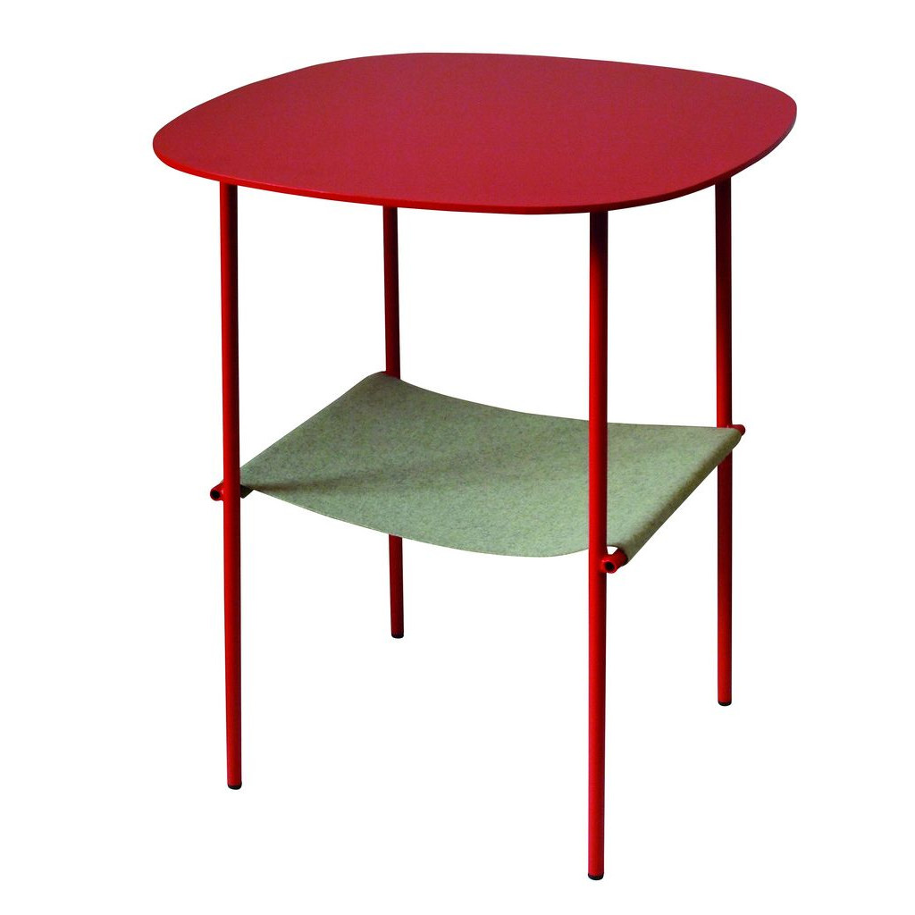 Table d'appoint Layer Gris Galet