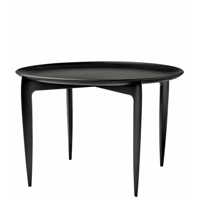 Klappbarer Tray-Tisch Groß | Schwarz