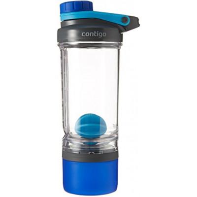 Proteinshaker Shake & Go Fit 650 ml   Dunkelblau