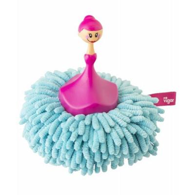 Microfibre Sponge & Duster Dolls   Blue