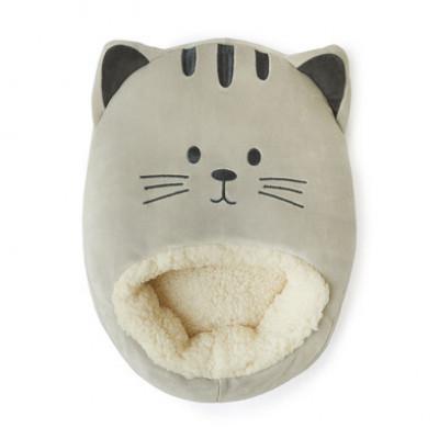 Fußwärmer Kitty   Grau