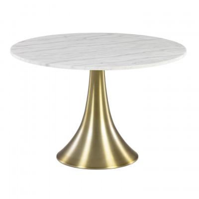 Tisch Oria   Weißer Marmor