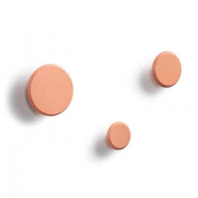3er-Set Kleiderhaken Padua | Orange