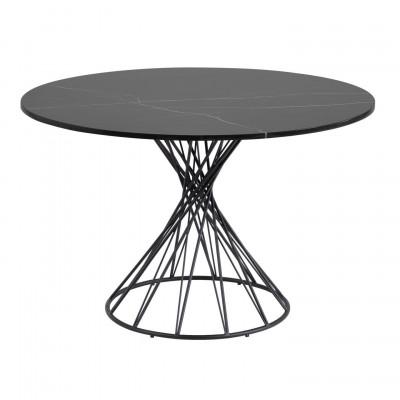 Tisch Niut   Schwarzer Marmor