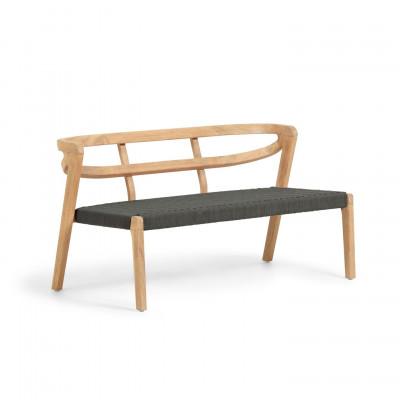 2-Sitzer-Sofa Ezilda | Eukalyptusholz