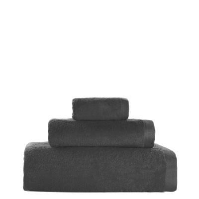 3er-Set Handtücher Toallas 16 l Grau