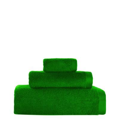 3er-Set Handtücher Toallas 19 l Grün