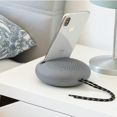 Drahtloser Lautsprecher mit Halter für Geräte SonoDock | Grau