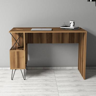 Schreibtisch Extra   Nussbaum