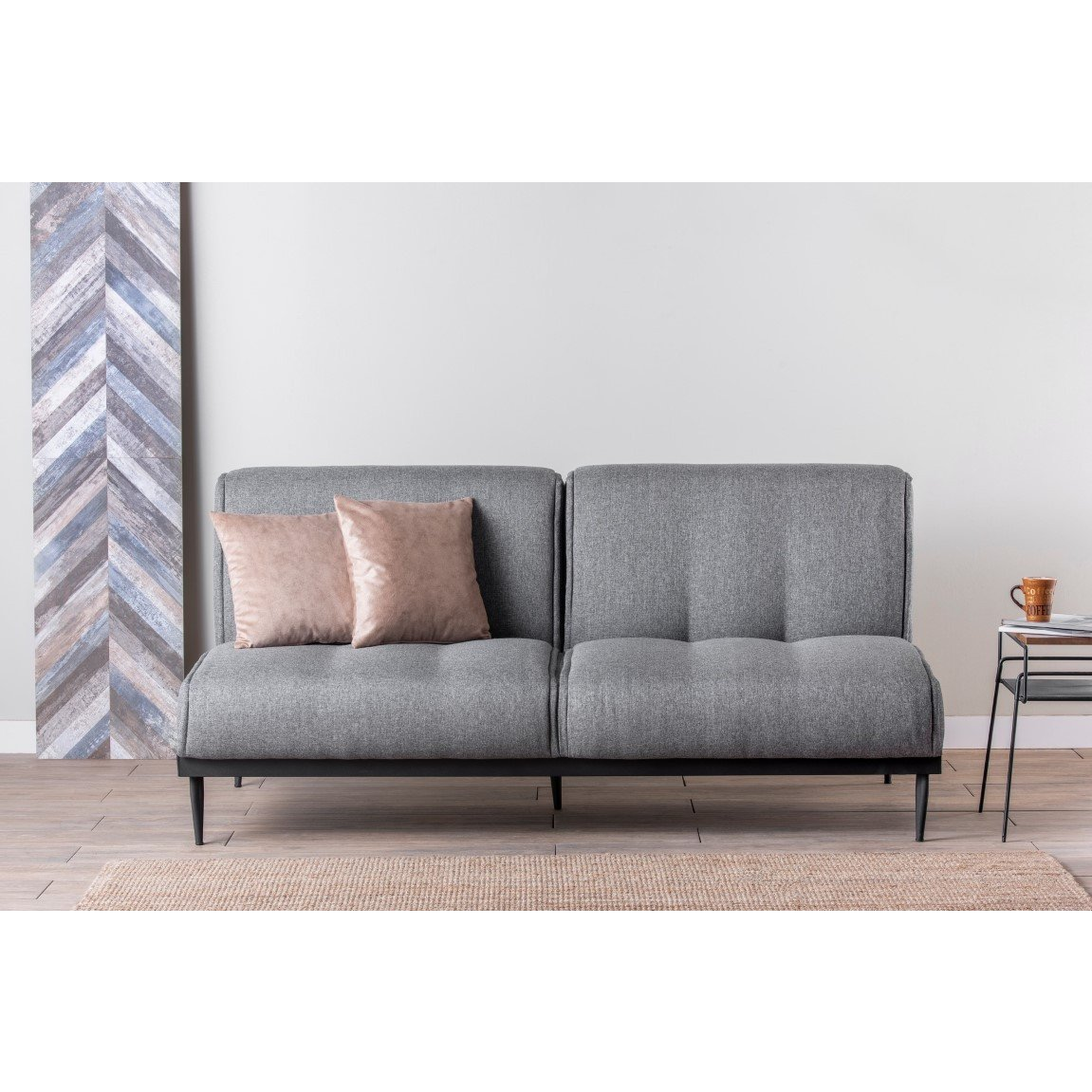 3 Seater Sofabed Anton | Grey