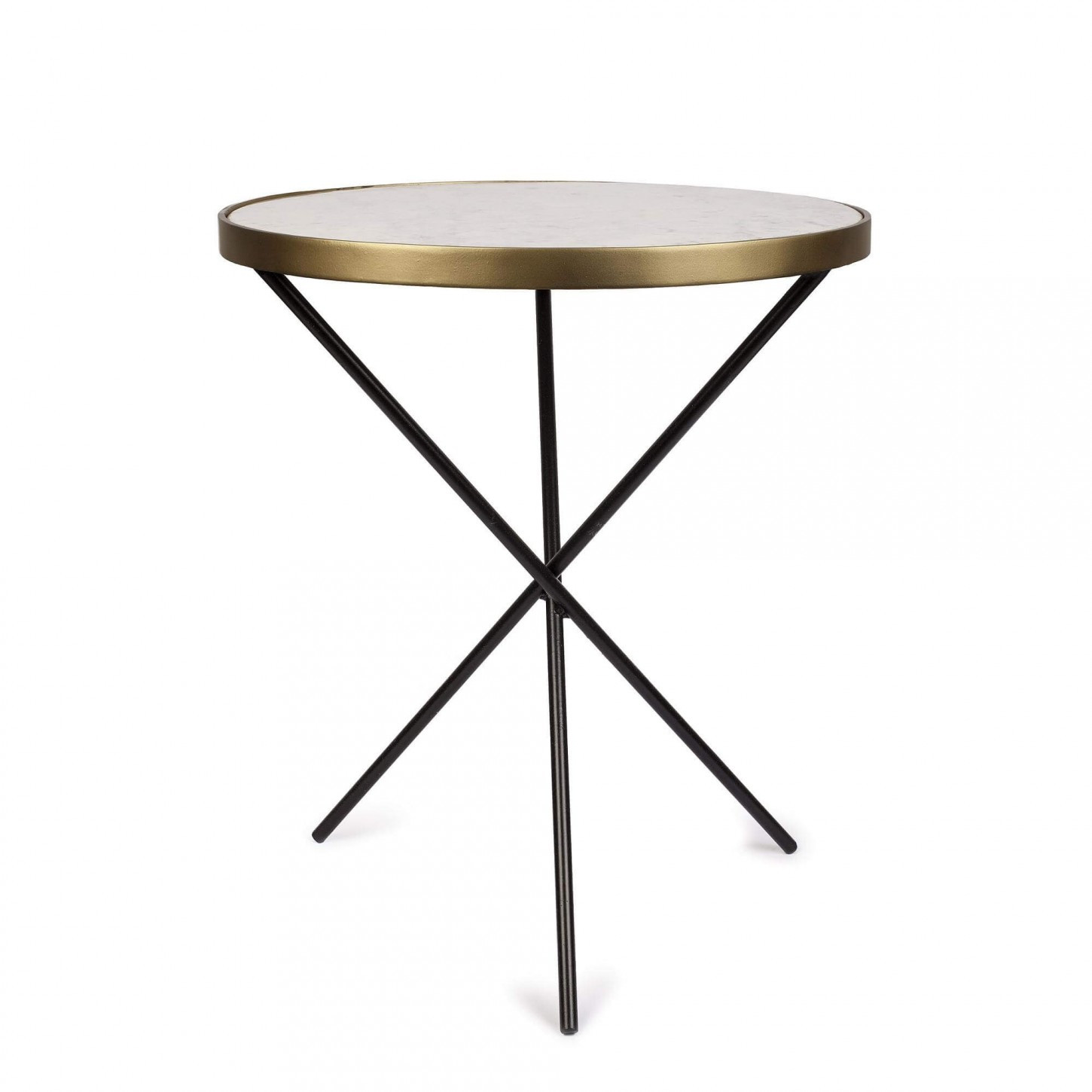Side Table Bistro   White