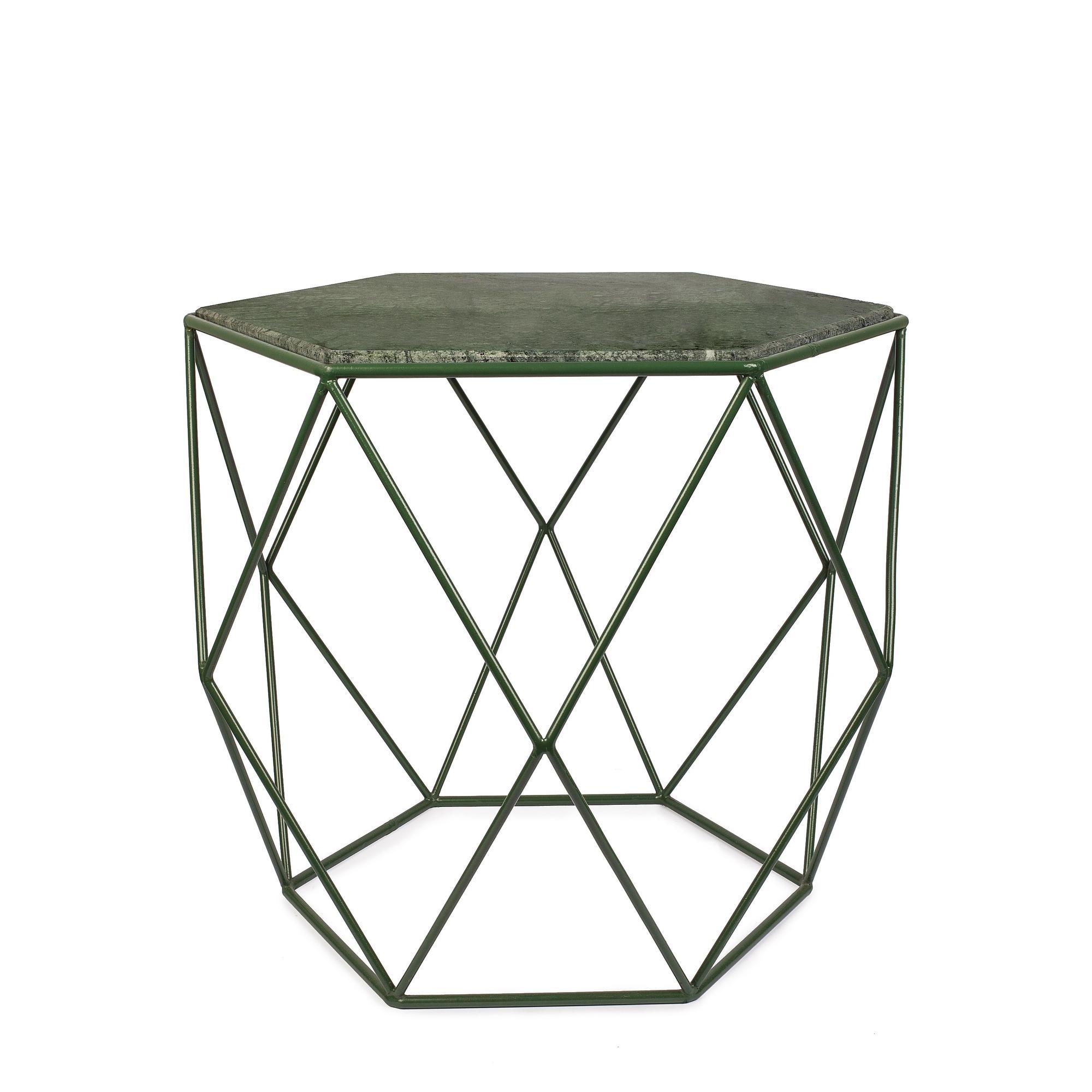 Side Table Gemstone | Green
