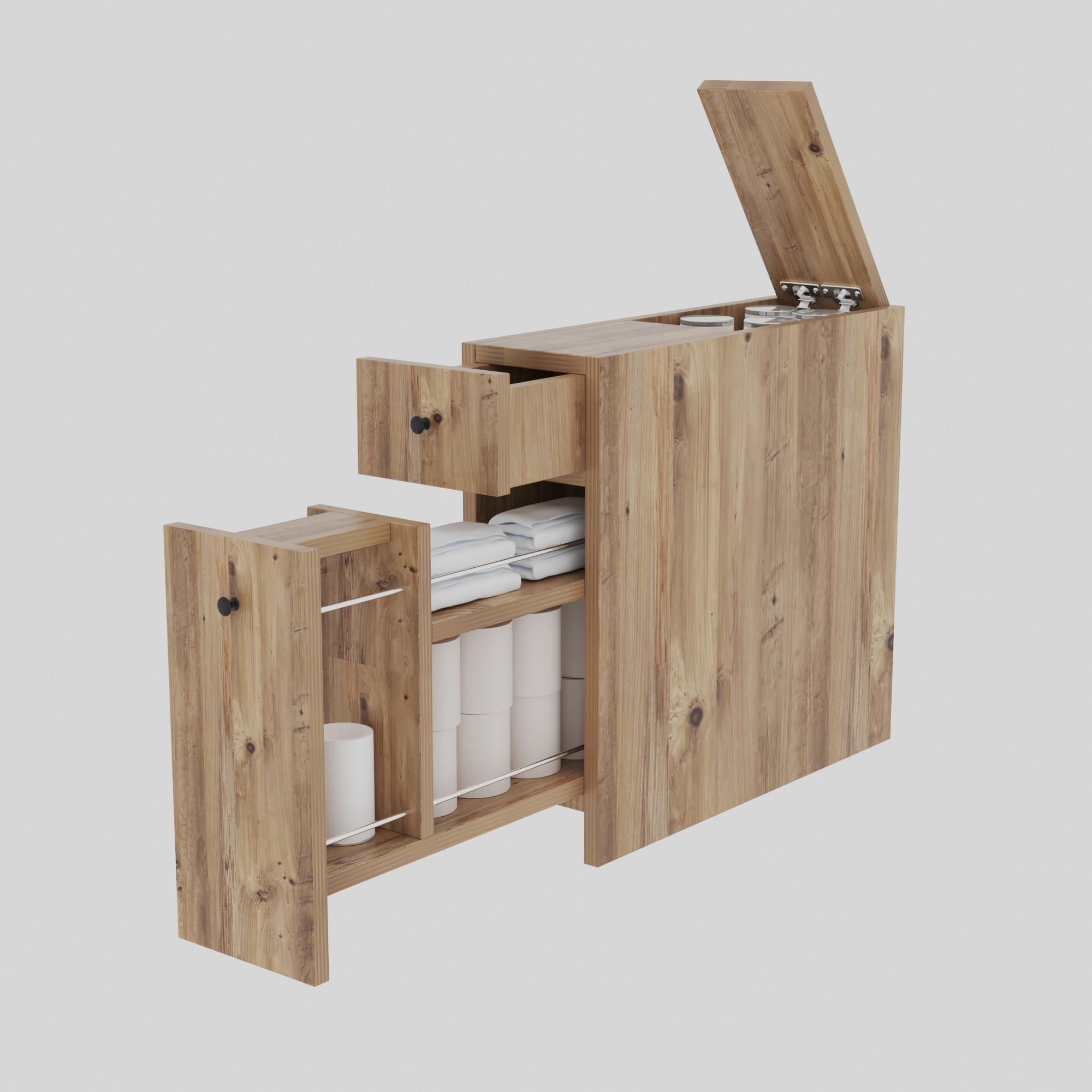 Multipurpose Cabinet Calencia | Oak Colour