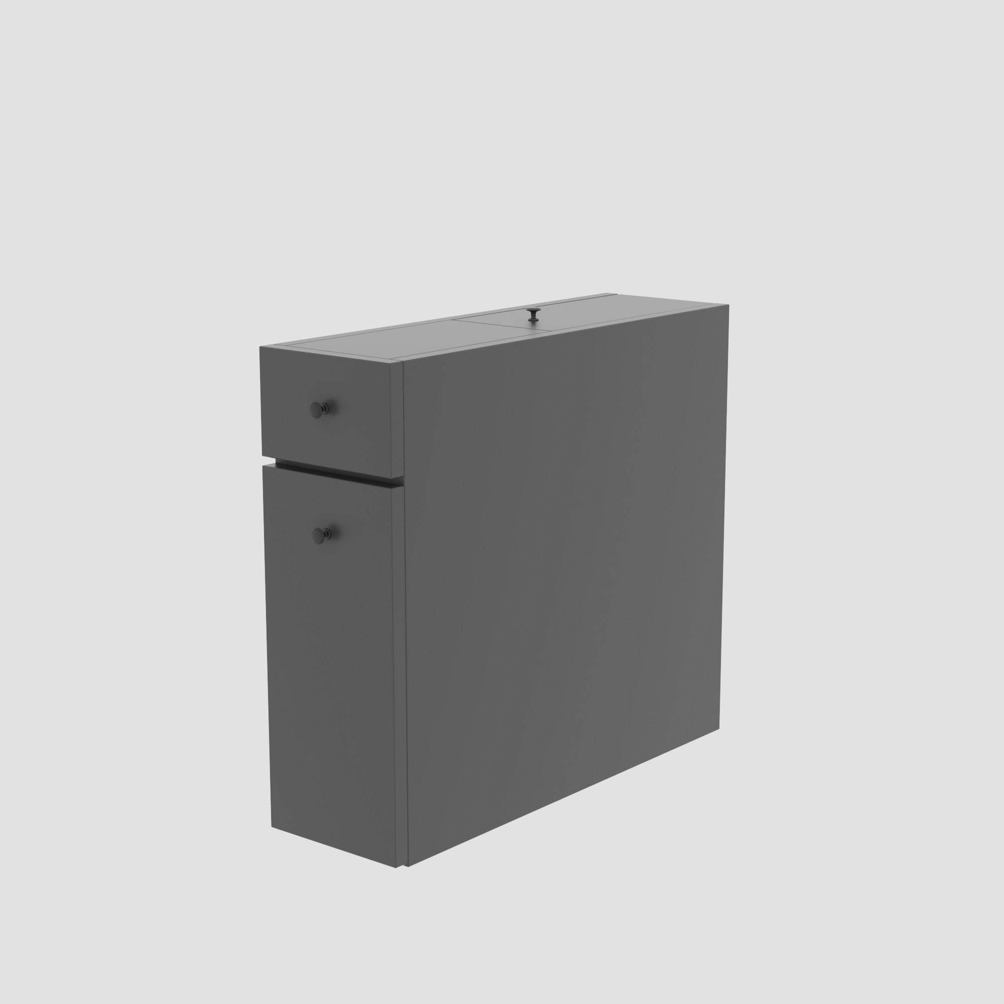 Multipurpose Cabinet Calencia | Anthracite