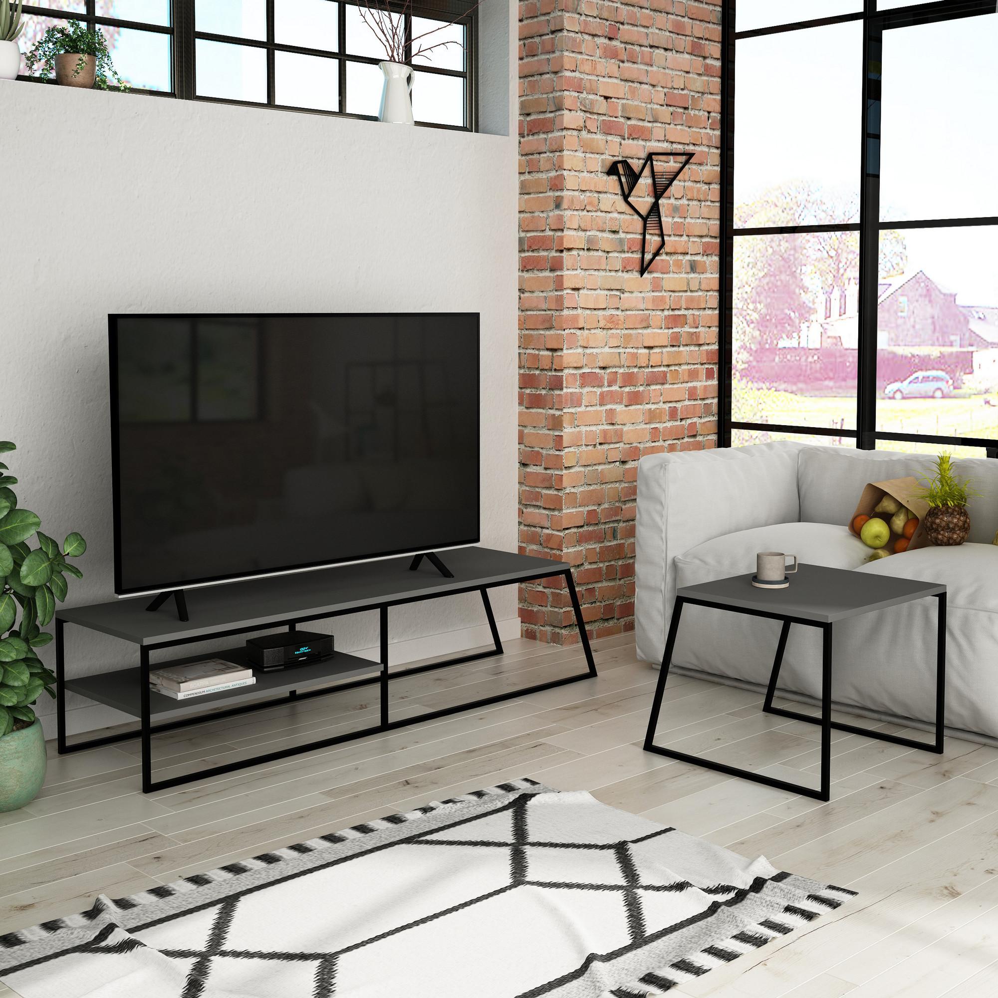 TV-Möbel Pal | Anthrazit