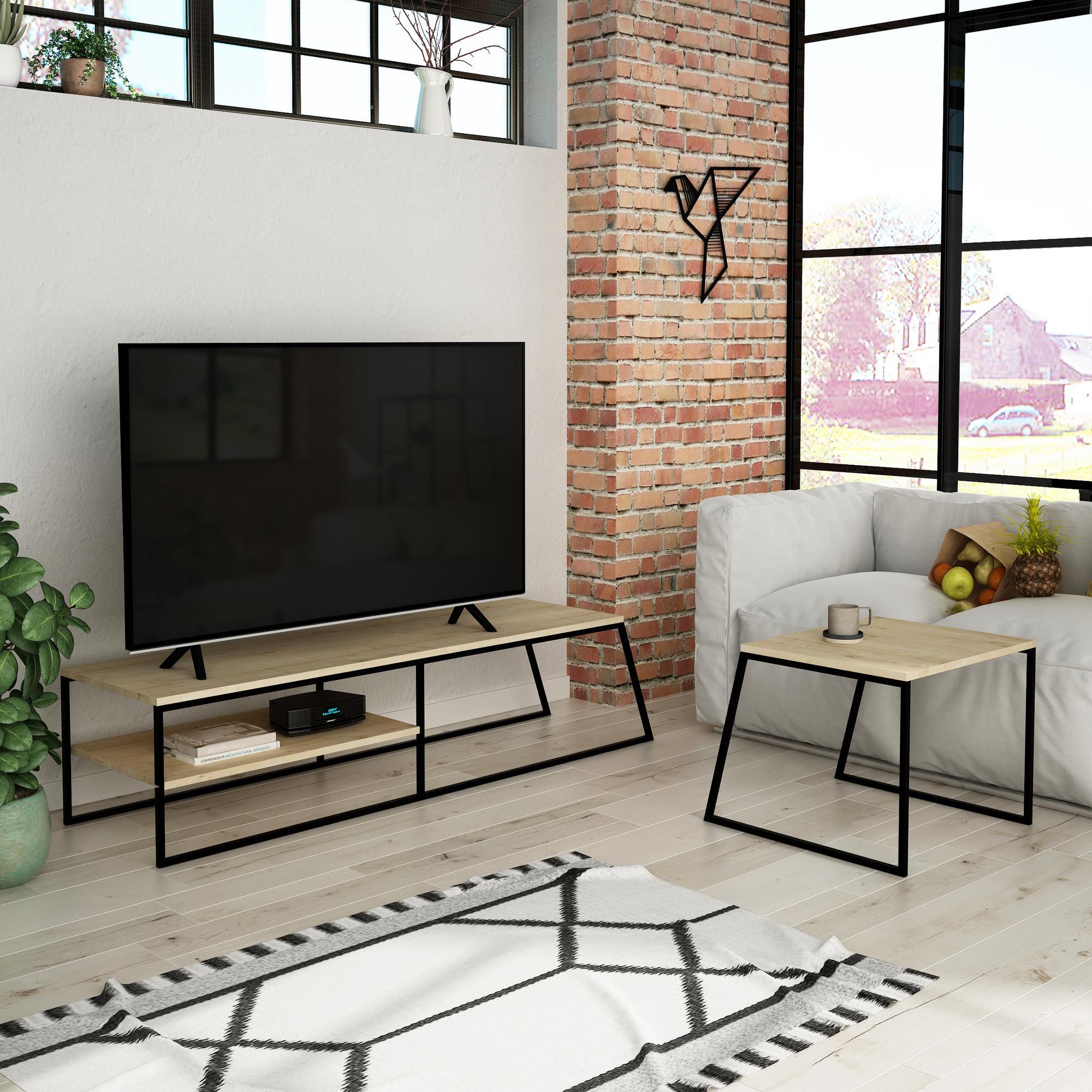 TV-Möbel Pal | Eiche