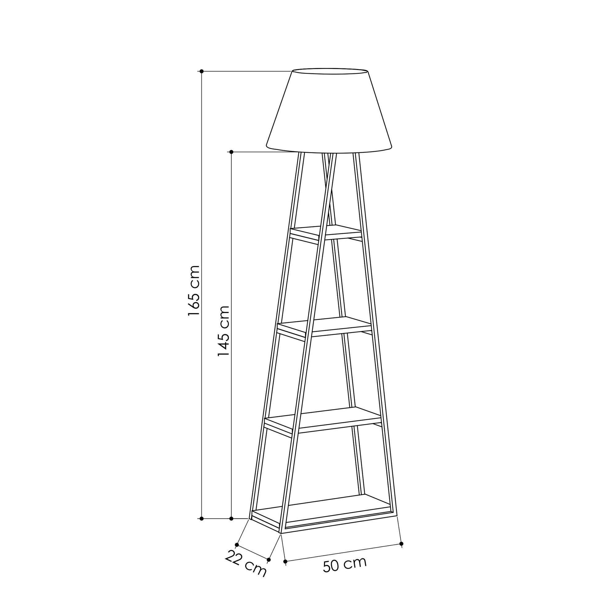 Floor Lamp Pal | Light Mocha & Black